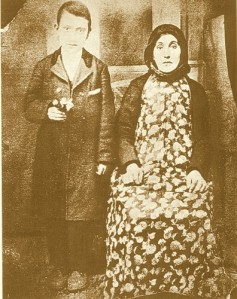 Arshile Gorky and his mother, Lady Shushanik